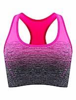 cheap -Women Racerback Sports Bras - High Impact Workout Gym Ativewear Bra
