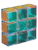 cheap -Zcube 1x3x3 Magic Cube Sticker 133 Floppy Cube Speed Puzzle (2.24 x 2.24 x 0.75 Inches Transparent)