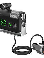 cheap -BC55 Bluetooth 5.0 FM Transmitter / Bluetooth Car Kit Car Handsfree QC 3.0 / MP3 Car