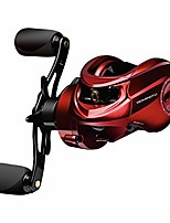 cheap -beimingyu shark 7.0:1 high speed baitcasting fishing reel aluminum spool stainless steel bearings 9.9lb braking power (left hand)