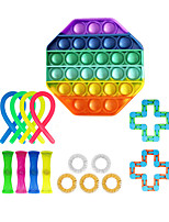 cheap -16 pcs Fidget Toys Anti Stress Toy Set Strings Marble Relief Gift for Adults Girl Children Sensory Stress Relief Antistress Toys