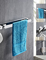 cheap -Silvery Multifunctional Towel Bar with Hook 304 Stainless Steel Electroplated, 40cm, Mirror Polished, Bathroom and Kitchen Shelf Punch-free