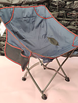 cheap -Camping Chair with Side Pocket Portable Ultra Light (UL) Multifunctional Foldable Aluminum Alloy for 1 person Fishing Beach Camping Traveling Autumn / Fall Winter Camouflage Blue / Breathable