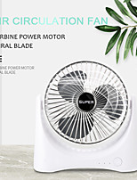 cheap -desktop fan portable usb charger ultra-quiet mini table fan 3 levels adjustable air circulation rotatable cold air for home life