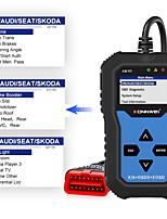 cheap -konnwei kw350 v007 volkswagen audi car diagnostic instrument detector scanner car diagnostic instrument