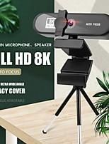 cheap -Conference PC Webcam Autofocus USB Web Camera Laptop Desktop For Office Meeting Home With Mic 1080P HD Web Cam 8802 8K Version