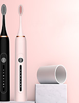 cheap -Ultrasonic Adult Electric Toothbrush Household Vibrating Soft Bristled Toothbrush Rinsing Device Rechargeable Automatic
