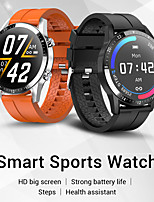 cheap -G30 Smartwatch Fitness Watch Bluetooth IP 67 Heart Rate Monitor Blood Pressure Measurement Sports Pedometer Call Reminder Sleep Tracker 45mm Watch Case for Android iOS / Sedentary Reminder