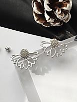cheap -Women's Hoop Earrings Geometrical Believe Stylish Simple Basic Boho Earrings Jewelry Golden / Silver For Gift Daily Festival