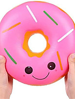 cheap -9.8 Inches Squishies Jumbo Donut Kawaii Scented Soft Slow Rising Doughnut Squishies Stress Relief Kids Toy Gift Collection Decorative Props