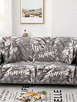 cheap -Grey Forest Print Dustproof All-powerful Slipcovers Stretch Sofa Cover Super Soft Fabric Couch Cover With One Free Boster Case(Chair/Love Seat/3 Seats/4 Seats)