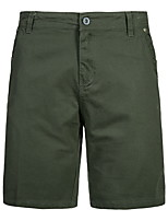 """cheap -Men's Hiking Shorts Hiking Cargo Shorts Solid Color Summer Outdoor 12"""" Loose Quick Dry Breathable Comfortable Wear Resistance Cotton Shorts Bottoms Black Army Green Grey Khaki Dark Navy Hunting"""