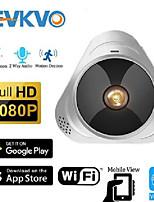 cheap -evkvo wifi camera 360 degree panoramic fisheye 1080p hd mini wireless ip camera indoor home security cctv p2p cloud yoosee app