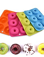 cheap -Donut Mold DIY Cake Baking Donut Making Random Color 1 Piece