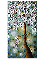 cheap -Wall Art 100% Hand-Painted Contemporary Art Oil Painting On Canvas Modern Paintings Home Interior Decor Peacock Art Painting Large Canvas Art(Rolled Canvas without Frame)