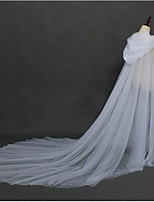 cheap -Long Sleeve Elegant Tulle Wedding / Wedding Party Women's Wrap With Solid