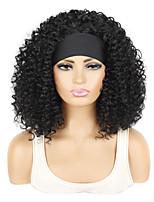 cheap -ice silk hair band wig headgear hair band short deep volume wig headgear ice silk hair band wig headgear
