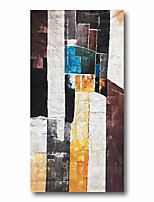 cheap -Stretched Oil Painting Hand Painted Canvas Abstract Comtemporary Modern High Quality Art Deco Wall Ready to Hang