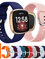 cheap -Watch Band for Fitbit Classic Buckle Silicone Wrist Strap Fitbit Versa 3