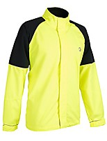 cheap -mens vision jacket - hi-viz yellow/black - lrg