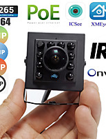 cheap -fisheye poe ip camera 5mp 3mp 2mp onvif indoor infrared night vision security video surveillance webcam xmeye 1.7mm wide angle