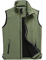 cheap -Men's Hiking Fleece Jacket Fishing Vest Work Vest Outdoor Casual Lightweight with Multi Pockets Fall Spring Summer Travel Cargo Safari Photo Wear Resistance Breathable Waistcoat Winter Jacket Coat Top