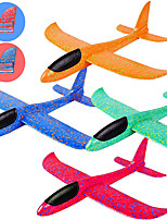 cheap -4 Pack Glider Plane Toys 17.5 Inch Large Throwing Foam Airplane Dual Flight Mode Flying Toy The Best Outdoor Sport Toy Gifts for Kids
