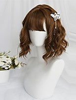 cheap -Brown Sweet Style Lolita Wig 35 inch Cosplay Wigs Other Wig Halloween Wigs