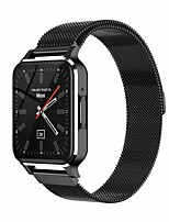 cheap -TM02 Stainless Steel Smartwatch for Apple/ Android Phones, 1.7-inch Sports Tracker Support Heart Rate / Blood Pressure Measure