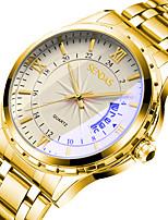 cheap -sanda men's watch stainless steel business waterproof watch quartz