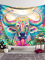 cheap -Wall Tapestry Art Decor Blanket Curtain Hanging Home Bedroom Living Room Decoration Polyester Colorful Cow
