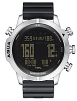 cheap -NORTH EDGE Men's Sport Watch Digital Digital Sporty Outdoor Altimeter Compass Stopwatch / One Year