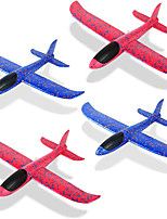 cheap -4 Pack Foam Airplane Toys 12.4 Inch Throwing Foam Plane 3 Flight Mode Glider Plane Flying Toy for Kids Gifts for 3 4 5 6 7 Year Old BoyGirl Outdoor Sport Toys Birthday Party Favors Foam Airplane