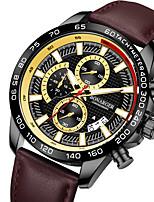 cheap -men's watch multi-function luminous sports quartz belt waterproof watch