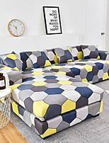 cheap -1 Pc Geometric Colourful Hexagon Sofa Cover Elastic Sofa Cover To Living Room Pet Sofa Dust Cover Recliner Sofa Cover