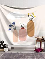 cheap -Wall Tapestry Art Decor Blanket Curtain Hanging Home Bedroom Living Room Decoration Polyester Modern Minimalist Illustration Marandi Style