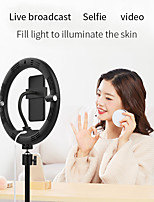 "cheap -8"" LED Ring Light Dimmable LED 3 Color Lighting Modes for Photography Tiktok Youtube Video Makeup Live Streaming"