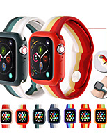 cheap -Smart Watch Band for Apple iWatch 1 pcs Printed Bracelet Silicone Replacement  Wrist Strap for Apple Watch Series SE / 6/5/4/3/2/1