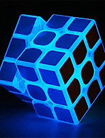 cheap -Zcube Blue Fluorescent Speed Cube 3x3x3 Glow in Dark Magic Cube Puzzle Toy