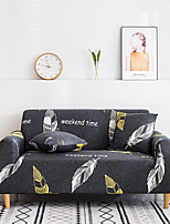 cheap -Sofa Cover Furniture Protector Soft Stretch Spandex  Fabric Gray Feather