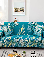 cheap -Green Forest Print Dustproof All-powerful Slipcovers Stretch Sofa Cover Super Soft Fabric Couch Cover With One Free Boster Case(Chair/Love Seat/3 Seats/4 Seats)