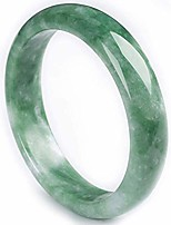 cheap -ly natural jade bracelet bangle feng shui emerald jadeite bangles bracelets for women jewelry 36612,53-54mm