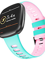 cheap -Watch Band for Fitbit Classic Buckle Silicone Wrist Strap for Fitbit Versa 3