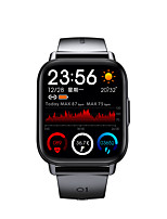cheap -QS16 Pro Long Battery-life Smartwatch for Apple/ Android Phones, 1.69-inch Sports Tracker Support Heart Rate / Blood Pressure Measure
