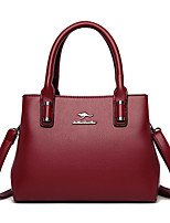 cheap -Women's Bags Top Handle Bag Date Office & Career 2021 Black Blue Red Yellow