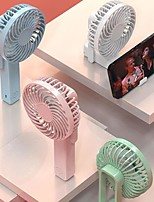 cheap -180 Degree Folding All-round Air Supply Portable Fan Handheld Electric USB rechargeable fan Appliances Desktop Air Cooler Outdoor Travel hand fan