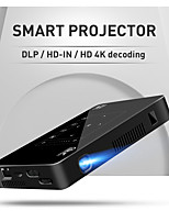 cheap -P10 Smart Android Wifi Mini Pocket Portable Full HD LED Projector For Smartphone Home Theater 1080P MAX 4K