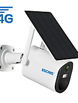cheap -ESCAM QF490 1080P Cloud Storage 4G Sim card  Battery PIR Alarm IP Camera With Solar Panel Full Color Night Vision Two Way Audio IP66