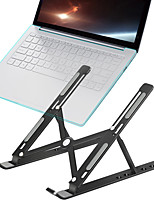 cheap -portable laptop stand aluminium foldable macbook pro support adjustable notebook holder tablet base for pc computer bracket