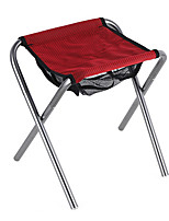cheap -Camping Stool Multifunctional Portable Breathable Ultra Light (UL) Aluminum Alloy for 1 person Fishing Beach Camping Traveling Autumn / Fall Winter Red